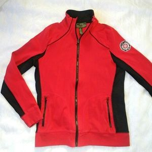 Ralph Lauren Jackets & Coats - L-RL RALPH LAUREN ACTIVE Red/black Jacket Size M
